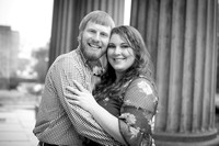 Stephanie and Red Engagement Session Collection - Old Courthouse, Vicksburg, MS - Feb 10, 2018